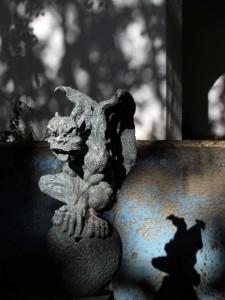 Goth statue