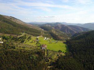 Brejo retreat Arial view